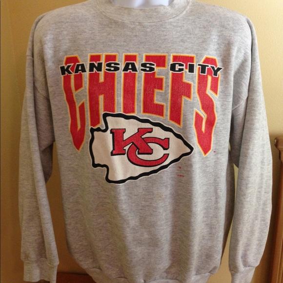 02b61ca3 Vintage Kansas City Chiefs Crewneck Sz XL